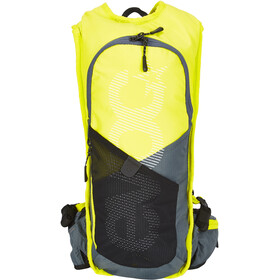 EVOC CC Race Lite Performance Backpack 3l + 2l Bladder, sulphur/slate